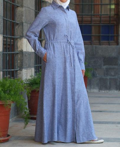 عبايات كاجوال , عبايات جينز للبنات ملابس محجبات