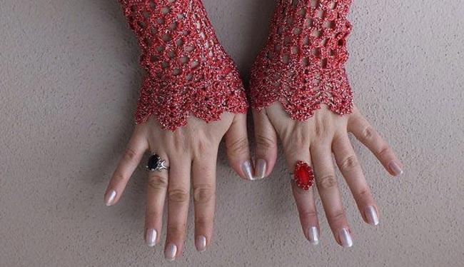 اصابع اليد بالمنام