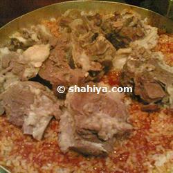 كيفية عمل الفتة المصرية باللحم
