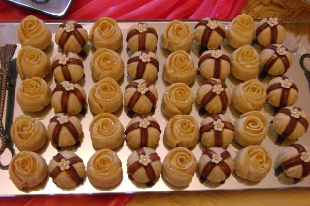 صورة حلويات مغربية عصرية بالصور والطريقة , حلو مغربي سريع