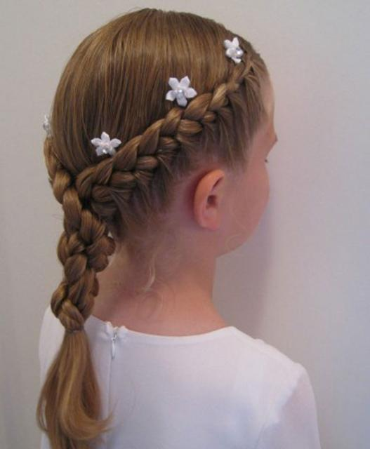 صور تسريحات شعر للاطفال للعيد بالصور , خلي بنتك اجمل بنوتة بتسريحة شعر جديدة
