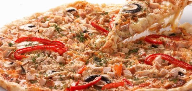 صورة اللحم المفروم المجمد , طريقة عمل بيتزا باللحمة المفرومة