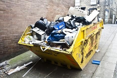 صور القمامة في المنام