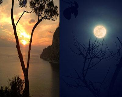 صور حوار بين الليل والنهار , حكاية ممتعة جدا بين الليل و النهار