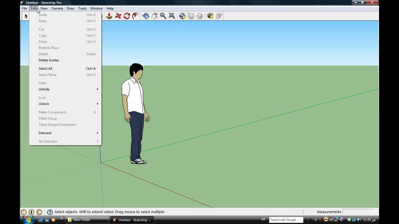 صورة تعليم اسكتش اب pdf , تعليم التصميم ثلاثي الابعاد