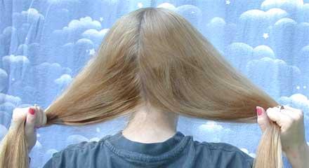 صورة لف الشعر طاقية , طريقة فرد الشعر في ليلة واحدة