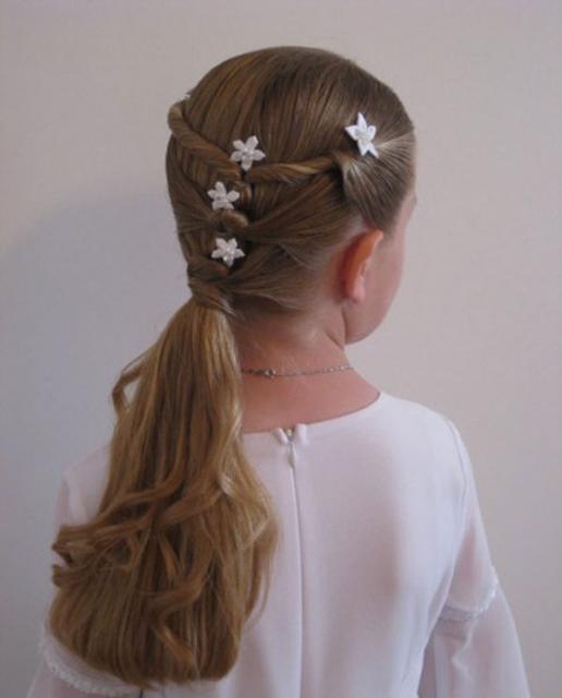 صورة تسريحات شعر للاطفال للعيد بالصور , خلي بنتك اجمل بنوتة بتسريحة شعر جديدة