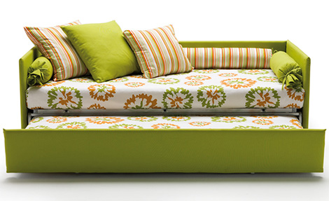 صورة كنبة سرير , سرير مريح وشيك جدا