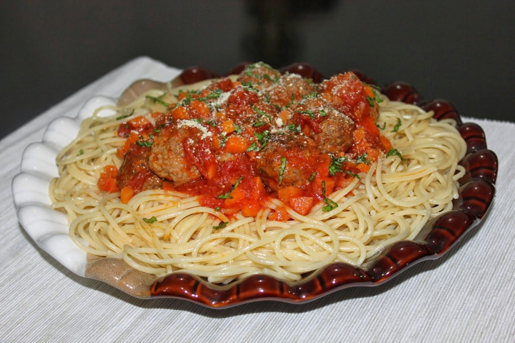 صورة طريقة تحضير سباغيتي بالكفتة , اسهل طبق للمبتدئين بالمطبخ مكرونة بالكفتة