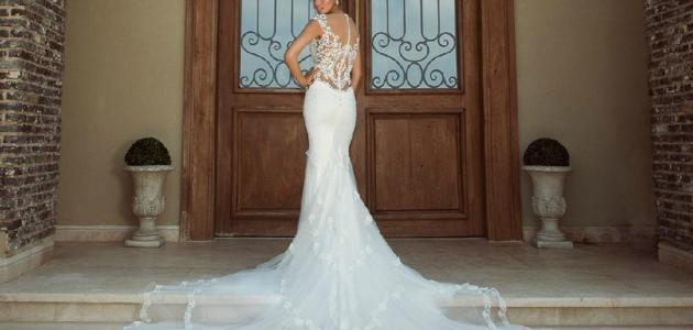 صورة رؤية فستان الزفاف في المنام لابن سيرين , تفسير حلم الفستان الابيض