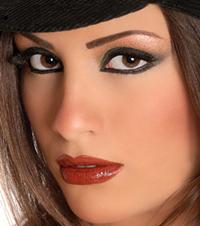 صورة جمال العيون السوداء , اللون الاسود وجاذبيته ملك جمال العيون