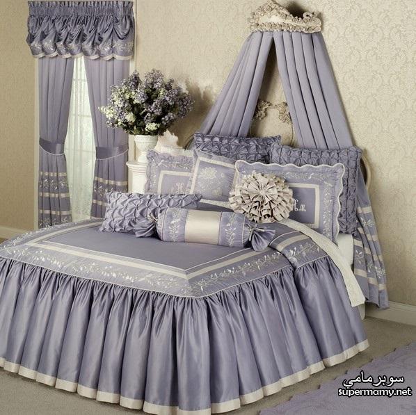 صورة مفارش سرير بالدانتيل , الدانتيل موضة العصر مكتسحة مفارش السراير ف اوض نوم العرايس