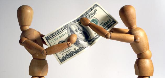صورة اعطاء المال في المنام