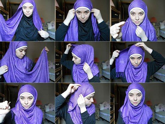 صورة طرق لبس الشال , عشرين طريقة لارتداء شالك بما يناسب استايل لبسك aa3074c8ce150670ec28888f5ecbb8ae