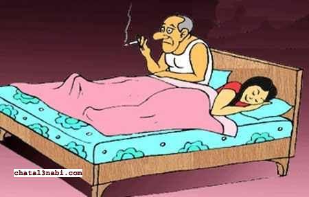 صورة معاملة الزوجة لزوجها في الفراش , كيف اثارة الزوج قبل العلاقة الحميمة