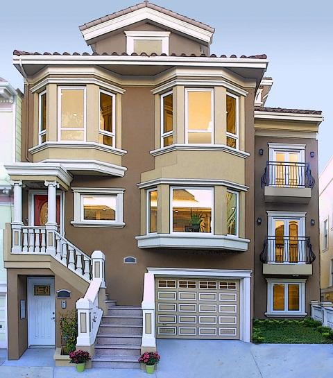 صورة احلى واجهة منزل , روائع تصاميم المنازل الاجمل على الاطلاق
