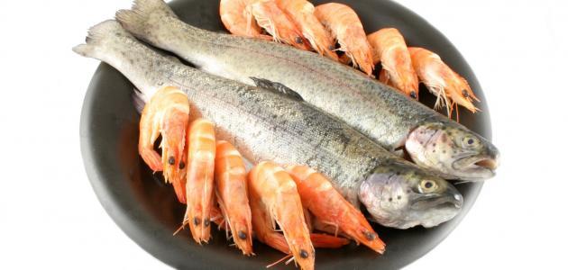 صور اكل السمك المشوي في المنام