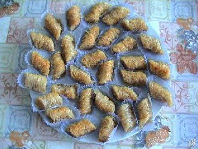 صورة حلويات مغربية , حلوى اللوز بالعسل تحفه