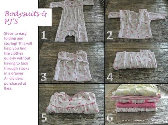 صور طي الملابس , بالصور اسهل طريقة طي الملابس بدون زحمة بالدولاب