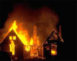 صورة تفسير حلم النار في البيت