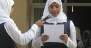 صورة مقدمة اذاعة مدرسية مصرية كاملة , تقديم الفتيات المصريات لاجمل اذاعة قيمة ف المدرسة