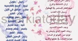 صورة اسماء ذكور عربية اسلامية , اجمد الاسماء للرجل