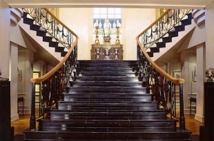 صورة درج رخام , تصميمات سلالم فخمة تحول منزلك لقصر ملكي