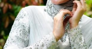 صورة طرق لف الحجاب للسهرات , انتي ملكة مع لفة الحجاب المختلفة