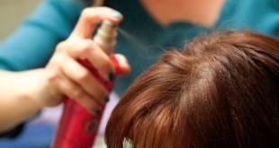 صورة لتثبيت الشعر , اسبراي طبيعي ينعم ويلمع الشعر