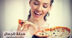 صورة زيادة الوزن في اسبوع بدون اكل , وجبات دسمة لجسم مثالي