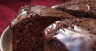صورة طريقة عمل كريمة كيكة الشوكولاته , كيك الشكولاه يجنن العقل
