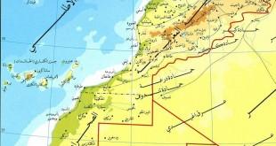 صورة خريطة مدن المغرب , عدد سكان مدن المغرب بالصورة