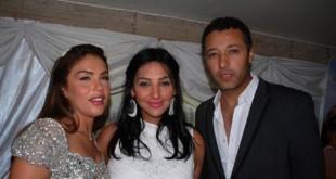 فعلا زوجته ملكة جمال , زوجة احمد فهمي