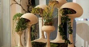 صورة ديكورات نباتات الزينة المنزلية , صور لاجمل ديكور داخلي من الزهور