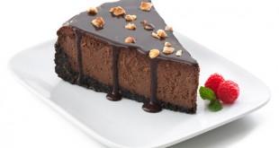 صورة تشيز كيك بالشوكولاته , الحلويات بتجنن البنات موووت