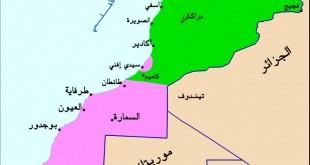 صورة خريطة المغرب gps , صور لخريطة دولة المغرب