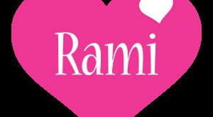 صورة اسم رامي بالانجليزي , حروف اسم رامي مزخرفة باللغة الانجليزية