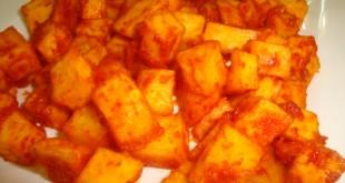 صورة كيف اسوي ايدام بطاطس , عوزة احضر ايدام بالبطاطس و للحمة