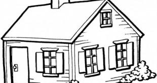 صورة صور منازل للتلوين , صورة منازل خلي ابنك يلونها معاكي
