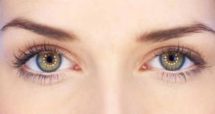 صورة مكياج للعيون الضيقة بالصور , كيف توسع عيونك بالميك اب