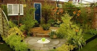 صورة تصاميم حدائق منزلية , ديكورات تجعل النفس ترتاح