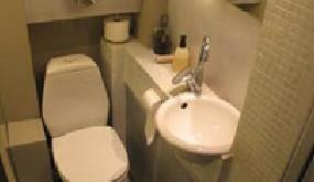 صورة تصميم حمامات شقق صغيرة , اروع الديكورات والالوان للحمام