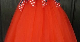صورة فستان بدون خياطة , صور فساتين هتخلي بنتك اجمل بنت في مناسبه