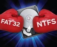 صورة من خلال هذة المعلومات سوف تحصل على معرفة رائعة فى عالم الكمبيوتر , ما الفرق بين fat32 و ntfs