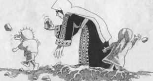 صورة رسومات ناجي العلي , رسم كاريكاتير معبر عن الحال الفلسطيني