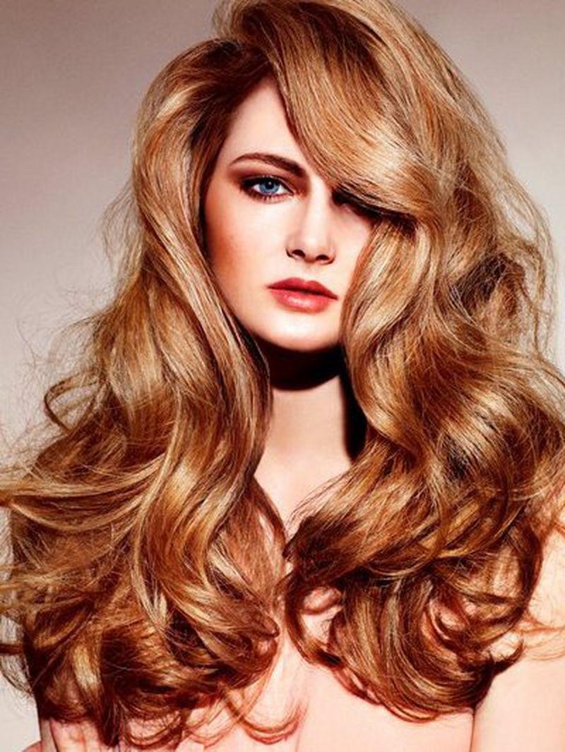 صورة اللون النحاسي , غيري لون حياتك مع شعرك