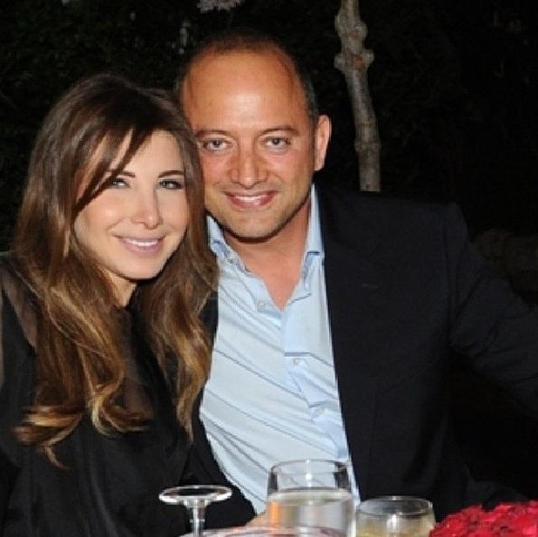 صورة نانسي عجرم مع زوجها , صور ملتقطة لنانسي عجرم مع زوجها