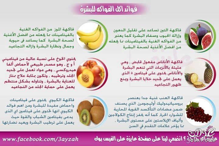 صورة فوائد الخضر والفواكه , فوائد لاحصرى لها بعد تناولك الخضروات و الفواكة