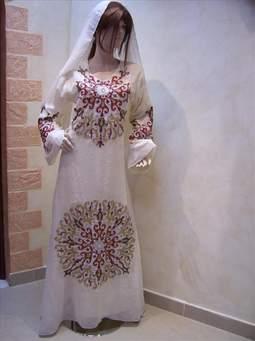 صورة سعر متر الشيفون , اجمل ملابس باجود خامة