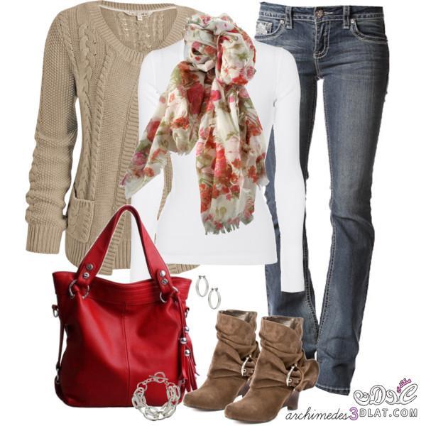 صورة احدث الملابس الشتوية , الشتا وجمال هدومه الشيك